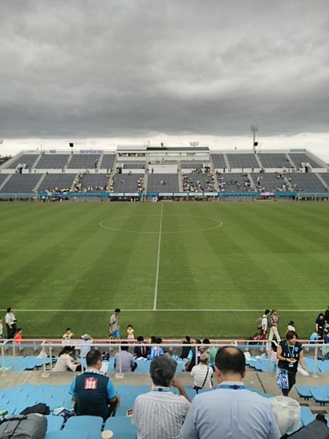 ニッパツ三ツ沢球技場の歩き方 J2 2015年8月23日 ジェフ千葉@横浜FC
