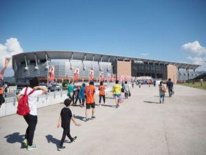 長野Uスタジアムの歩き方 ~長閑な景色の圧倒的ホーム感~