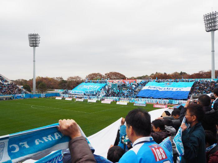 ニッパツ三ツ沢球技場 横浜FC