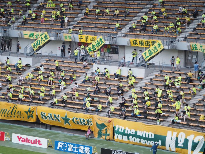 Jリーグ 有観客試合
